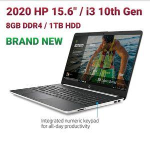 "2020 HP 15.6"" Intel Core i3-1005G1, 8gb DDR4, 1tb for Sale in Hollywood, FL"