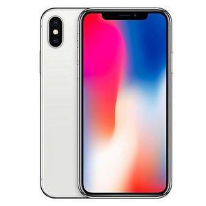 Apple IPhone X 5.8-Inches Super AMOLED (3GB RAM, 256GB ROM) IOS 11.1.1, (12MP + 12MP) + 7MP 4G LTE Smartphone - Silver for Sale in Ailey, GA