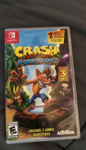 Nintendo switch game for Sale in Haymarket, VA