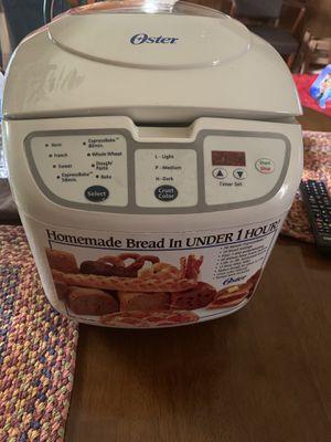 Oster bread maker brand new w/o box $25 for Sale in Fresno, TX