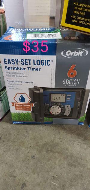 6 station orbit sprinkler timer outdoor for Sale in Bakersfield, CA