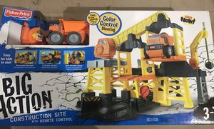 New in box Fisher Price Big Construction Site. for Sale in Chicago, IL
