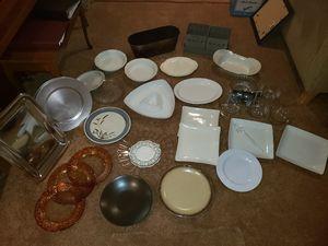 Lot of 30 various serving platters Wedding Shower for Sale in Alexandria, VA