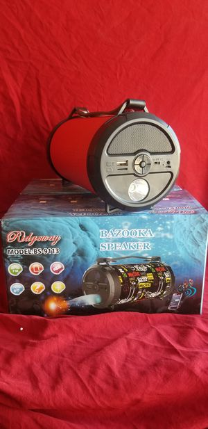 Rechargeable Bluetooth Wireless Speaker Sd Card,Usbflash Drive Fm Radio Speaker ( Bosina ) Bz2 for Sale in March Air Reserve Base, CA