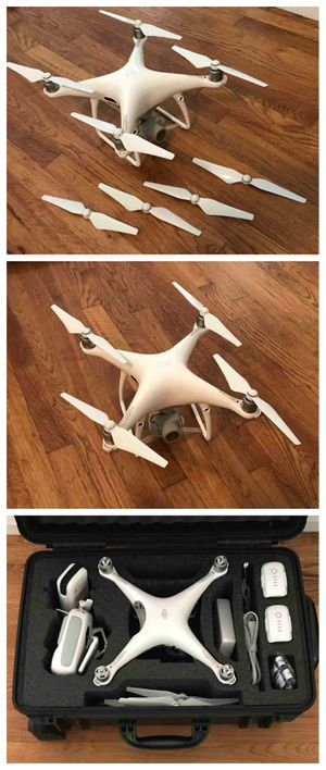 """FOR SALE !!! DJI Phantom 4 Pro Plus Camera Drone with 5.5"""" Display - White for Sale in Grand Island, NE"""