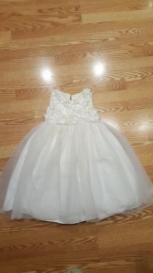Beautiful flower girl dress, size 5 for Sale in Kent, WA
