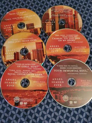 Angel Complete DVD Series for Sale in Fort Worth, TX