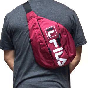 NEW! FILA shoulder sling side crossbody bag backpack travel work gym hiking biking pouch for Sale in Carson, CA