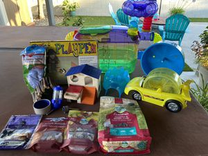 Hamster cage and supplies for Sale in San Diego, CA