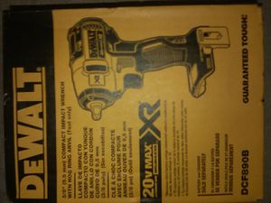 """DEWALT 20V BRUSHLESS XR 3/8"""" COMPACT IMPACT WRENCH WITH HOG RING ANVIL, (DCF890B), BRAND NEW IN BOX for Sale in Santa Ana, CA"""
