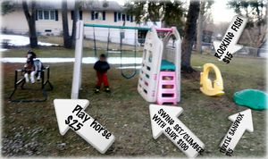 KIDS OUTDOOR TOYS..variety for Sale in Bayport, MN