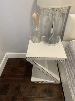 Side table Z shaped for Sale in Los Angeles, CA