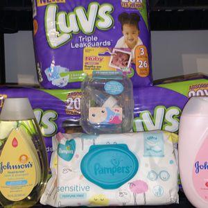 Baby Diapers Bundle Luvs for Sale in Hampton, GA