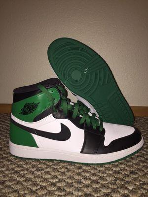 Air Jordan Boston Celtics 1's Retro Size 11.5 New for Sale in Seattle, WA