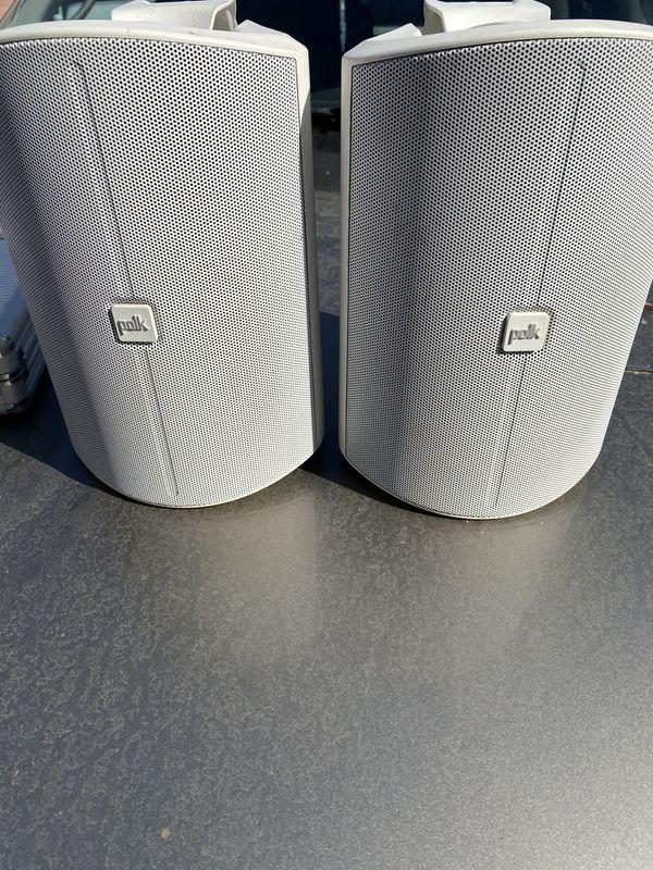 """Polk Audio - Patio 200 5"""" 2-Way Indoor/Outdoor Loudspeakers (White)"""