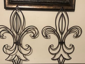 "Set of Fluer De Lis Wall Decor 16"" By 24"" for Sale in Clermont,  FL"