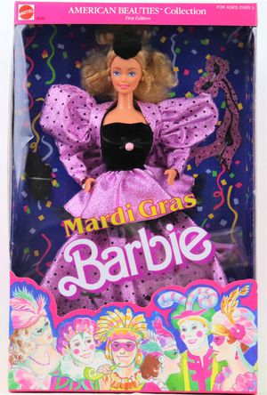 Mardi Gras Barbie Doll American Beauties Collection First Edition 1987 for Sale in Oakland, CA
