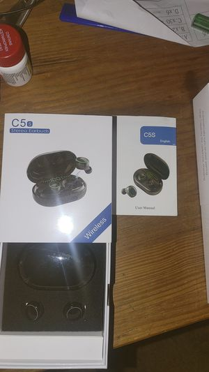(2)C5 Stereo Earbuds for Sale in Lockhart, FL