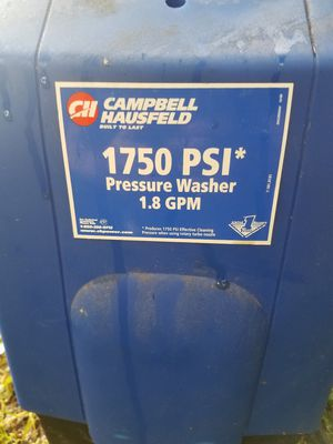 Campbell and haishield pressure washer for Sale in Evansville, IN