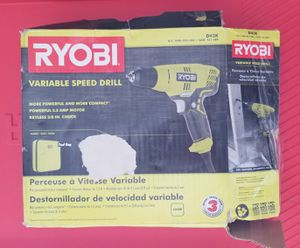 Ryobi Corded Drill for Sale in Knightdale, NC