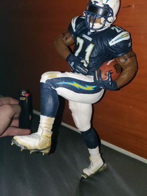 LaDanian Tomlinson 12 inch statue action figure collectible San Diego Chargers 21 for Sale in Las Vegas, NV