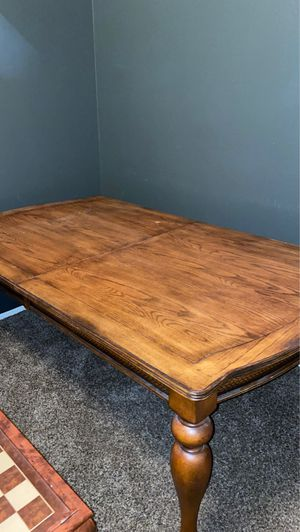 Solid wood crafted dinning table for Sale in Bakersfield, CA