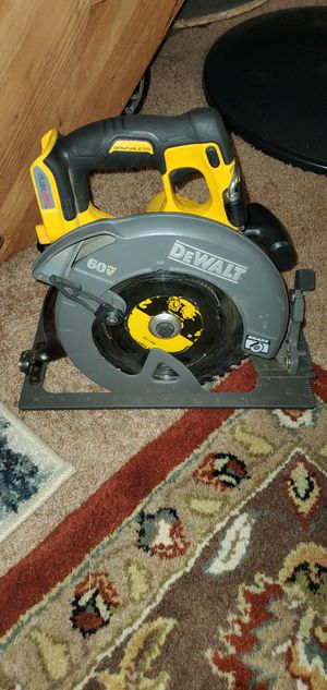 FLEXVOLT 60 Volt MAX 7-1 / 4 for Sale in Burien, WA