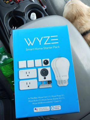 wuze home security camera starter kit for Sale in Graham, WA