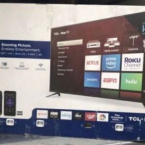 "75"" TCL Roku Smart 4K Led Uhd Hdr Tv for Sale in Claremont, CA"