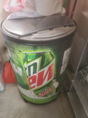 Mt dew cooler for Sale in Clayton, NC