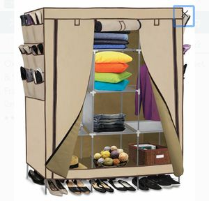 Wardrobe Closet Storage Shelves Organizer with Fabric Cover for Sale in Ontario, CA