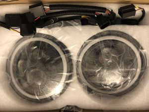 Jeep led headlights for Sale in Orange, CA