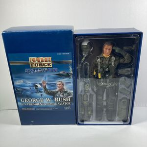 """New Elite Force George W Bush President & Naval Aviator 12"""" Action Figure Pilot. Condition is New. for Sale in Palisades Park, NJ"""