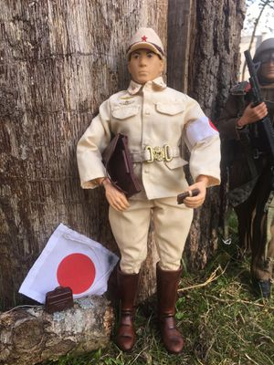 "GI Joe 12"" Action Figure Japanese soldier $35 for Sale in Toms River, NJ"