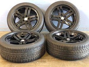 "18"" Oem Dodge Avenger wheels and tires new take off Package deal 1095.00 Best Tires 📍33733 Groesbeck Hwy Fraser, MI 48026 julian📱 for Sale in Sterling Heights, MI"