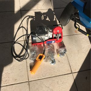 Electric Winch,hoist (Brand new) for Sale in Delray Beach, FL