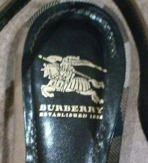 Burberry flat slingback shoes for Sale in Phoenix, AZ