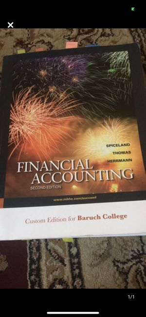 Financial Accounting 2nd Edition for Sale in Queens, NY