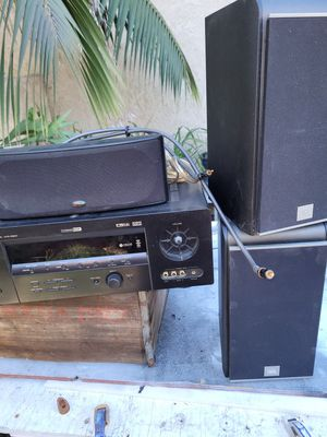 JBL, POLK AUDIO, YAMAHA RECIEVER. Stereo system great for LOUDER sound. READ ALL ON DESCRIPTION. for Sale in Orange, CA