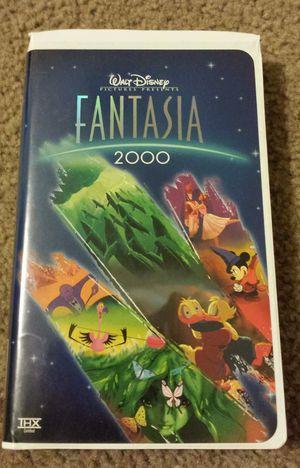 WALT DISNEY FANTASIA 2000 VHS. for Sale in Mesa, AZ