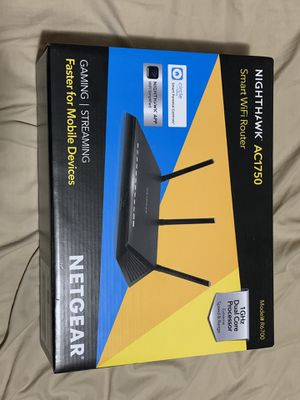 NETGEAR Nighthawk AC1750 WiFi Router for Sale in Mount Washington, KY