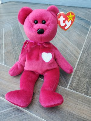 Ty Beanie Babies Valentina Bear Excellent Condition for Sale in Raleigh, NC