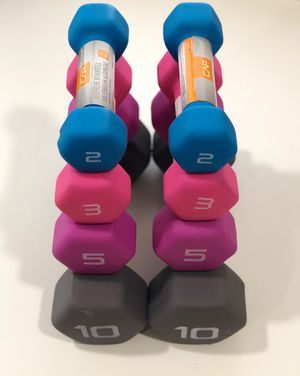New Neoprene Dumbbells sets for Sale in Sacramento, CA