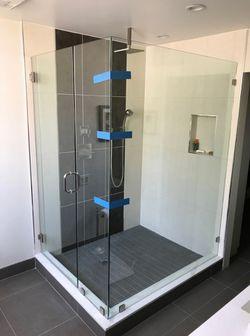 Shower doors railing mirrors for Sale in San Fernando,  CA