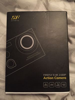Brand New!!! Firefly 8 4K Action Camera!!! Great for water!!! for Sale in Henderson, KY