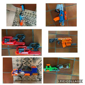Nerf guns and laser tag sets and accessories for Sale in Fort Lauderdale, FL