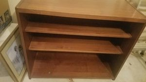 Wood T.V stand plus storage shelves for Sale in Sugar Hill, GA
