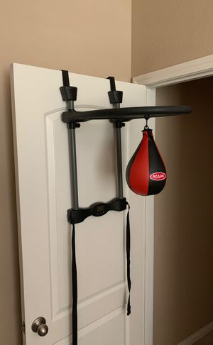 Plastic blow up speed bag for Sale in Las Vegas, NV