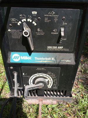 Miller Thunderbolt XL Welder for Sale in Gibsonton, FL
