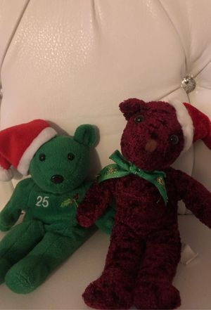 Holiday bear plushies for Sale in Downey, CA